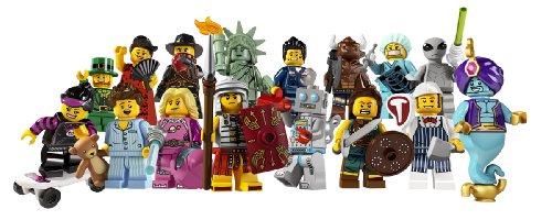 LEGO 8827 - 1 Tüte mit 1 Minifigur aus Sammelfiguren-Serie 6 (sortiert)