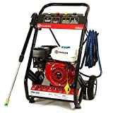 PETROL PRESSURE JET WASHER - 6.5HP ENGINE - 2900 PSI - PATIO CLEANING - CAR WASH