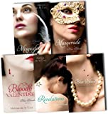 Melissa de la Cruz Melissa de la Cruz A Blue Bloods Novel 5 Books Collection Pack Set RRP: £43.19 (Masquerade, Revelations, Misguided Angel, Blue Bloods, Bloody Valentine)