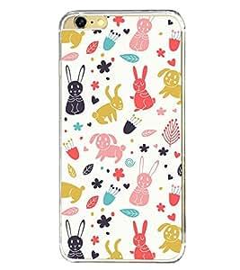 Cute Design 2D Hard Polycarbonate Designer Back Case Cover for Apple iPhone 6S