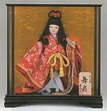 【ケース入り童人形】三月節句人形【極上本頭】(入り目)京の舞【柴田家千代】【お祝いケース人形】