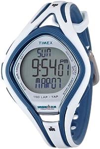 Timex Ironman T5K505 - Reloj de mujer de cuarzo, correa de caucho color blanco