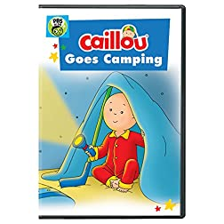 Caillou: Caillou Goes Camping DVD