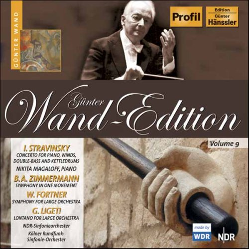 CD : Gunter Wand - Wand-edition: Concerto For Piano Winds & Double (CD)