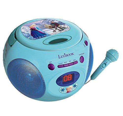 Frozen - Reproductor de CD con micrófono (Lexibook RCD102FZ)