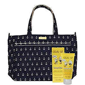 Bundle -2 Items: Ju-Ju-Be Super Be Tote Bag - Legacy The Admiral Bella B Honey Bum 2 oz by Ju-Ju-Be & Bella B