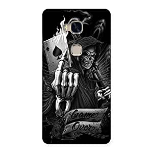 Stylish Game Over Back Case Cover for Huawei Honor 5X