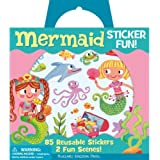 Peaceable Kingdom / Sticker Fun! Mermaid Reusable Sticker Tote