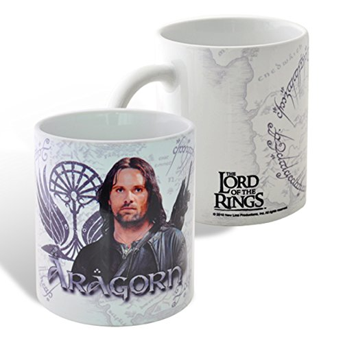 Il Signore degli Anelli - Tazza in Ceramica di Aragorn
