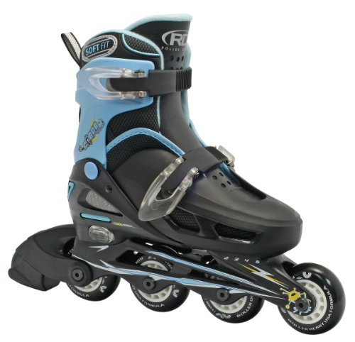 Roller Derby Boy's Cobra Adjustable Inline Skate