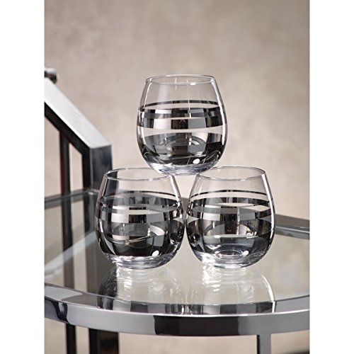 zodax-enzo-platinum-stemless-universal-wine-glass-tumbler-set