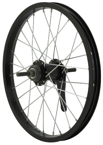 Avenir 28H Alloy 16 Inch x 1.50 Inch Coaster Brake Rear Wheel, Black