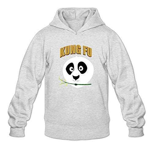 Kung Fu Panda 3 Logo Men's Long Sleeve Hoody Ash US Size XXL (Dremel 202 compare prices)