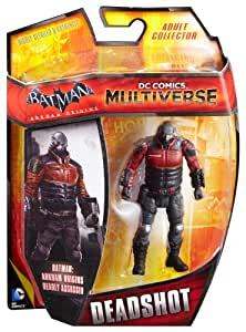 Mattel DC Comics Multiverse Batman Arkham Origins Deadshot Figure