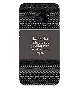 PrintDhaba Quote D-4676 Back Case Cover for SAMSUNG GALAXY S7 (Multi-Coloured)