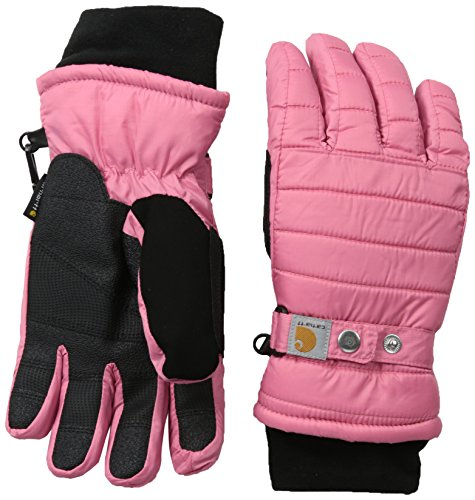 Carhartt Women's Quilts Insulated Glove with Waterproof Wicking Insert, Rose, Small (Ski Inserts compare prices)