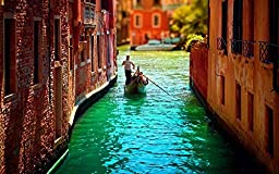 Super-Decor Beautiful Watertown Venice Landscape Poster Canvas Print 3 20x30 Inch Home Wall Decor landscape posters