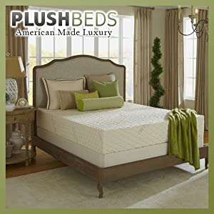 Amazon Com Plushbeds 6 Quot Natural Bliss Latex Mattress