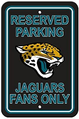 Bsi Products Bsi NFL Jacksonville Jaguars Reserved Parking Sign
