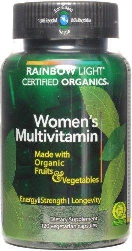 Rainbow Light Women'S Organic Multivitamin 120 Caps