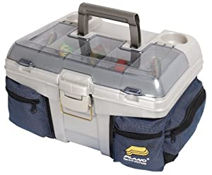 Plano Tackle Box with Chill Bag System (Blue Silver) by Plano