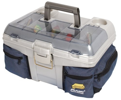 Plano Tackle Box  Chill Bag System (Blue/Silver)