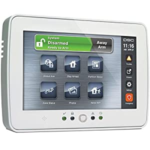 DSC TYCO PTK5507 Touch screen keypads for Power Series control panels.