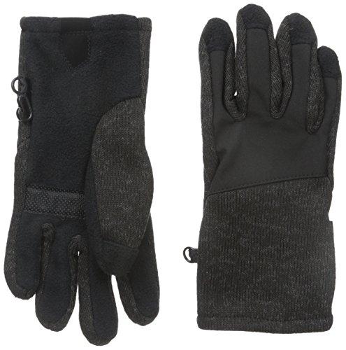 Weatherproof Big Boys' Sweater Glove, Black Plaid, One Size