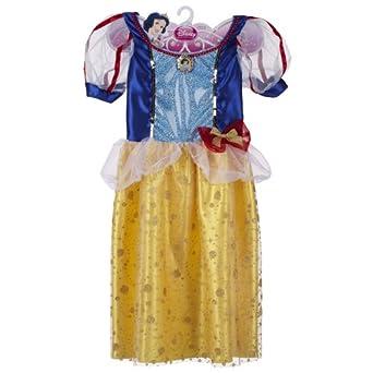 Disney Princess Sparkle Dress - Snow White - Size 4-6x