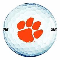 NCAA Clemson Tigers Logo 2013 e6 Golf Balls (Pack of 12)
