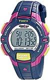 Timex Women's Rugged T5K813 Blue Rubber Quartz Watch