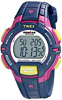 "Timex Women's T5K8139J ""Ironman"" Blue Digital Display Watch with Resin Band"