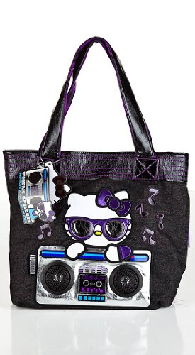 Loungefly Hello Kitty Boombox Speaker Tote Bag – ONE SIZE