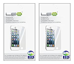 Diamond Screen Guard Screen Protector for Lava iris N320 (Pack of Two)