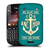 Head Case Designs Anchor for the Soul Christian Typography Protective Snap-on Hard Back Case Cover for BlackBerry Bold Touch 9900