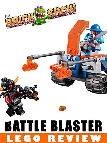 LEGO Nexo Knights Knighton Battle Blaster Review (70310)