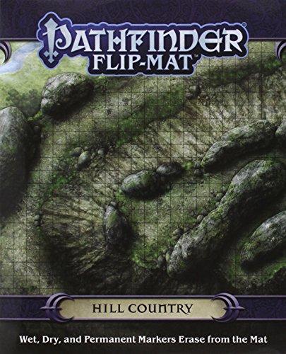 Pathfinder Flip-Mat: Hill Country