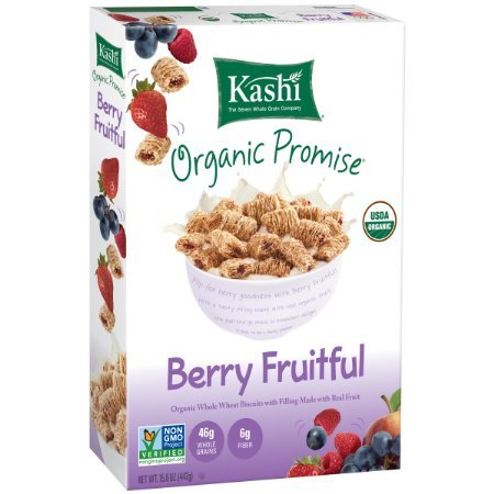 Kashi Organic Promise Berry Fruitful Cereal - 15.6 oz. (Pack of 3) (Kashi Organic Berry Fruitful compare prices)