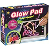 AMAV Portable, High-tech, Tablet-sized Glow Pad Light Up Drawing Board, with batteries