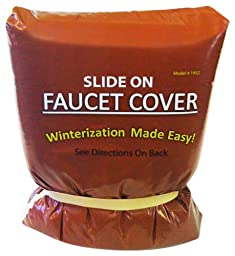 Outdoor Slide-On Faucet Cover