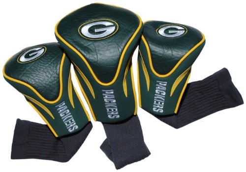 NFL Green Bay Packers 3 Pack Contour Fit Headcover