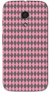 Timpax protective Armor Hard Bumper Back Case Cover. Multicolor printed on 3 Dimensional case with latest & finest graphic design art. Compatible with Motorola Moto -G-2 (2nd Gen )Design No : TDZ-22238