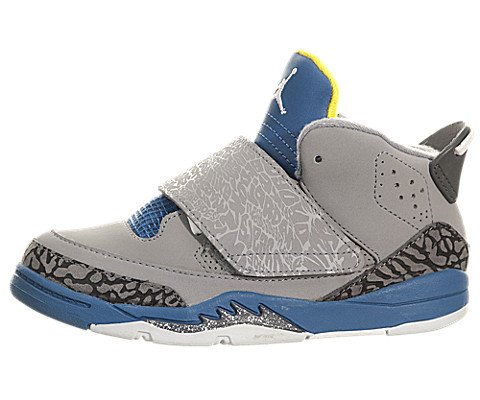 Jordan Son Of Mars (Toddler) - Stealth Blue / Shadow Blue-University Gold, 7 M Us