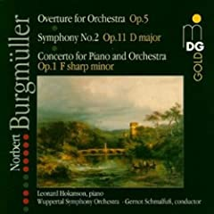 Overture for Orchestra Op 5 Sym 2 in D Major Op 11