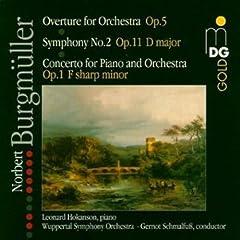 Overture for Orchestra Op 5 Sym 2 in D Major Op 11