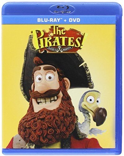 Blu-ray : The Pirates: Band Of Misfits (With DVD, 2 Pack, Widescreen, 2 Disc)
