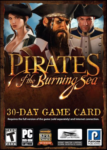 Pirates of the Burning Sea 30 Day Timecard