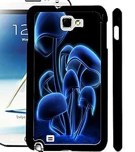 ColourCraft Digital Mushroom Design Back Case Cover for SAMSUNG GALAXY NOTE 2 N7100