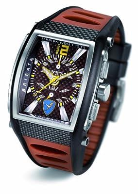 Tremila Brigata Paracadutisti Folgore Kevlar Steel Titanium Chronograph Watch by Locman Italy