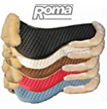 Roma Sheepskin Half Pad W/Full Rolled Edges